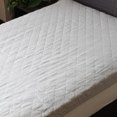 洗えるリネン敷きパッド