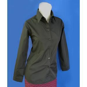 小さいサイズの ブラック長袖シャツ w272478 【S】5号小さいサイズ・レディース|bee-fit|06