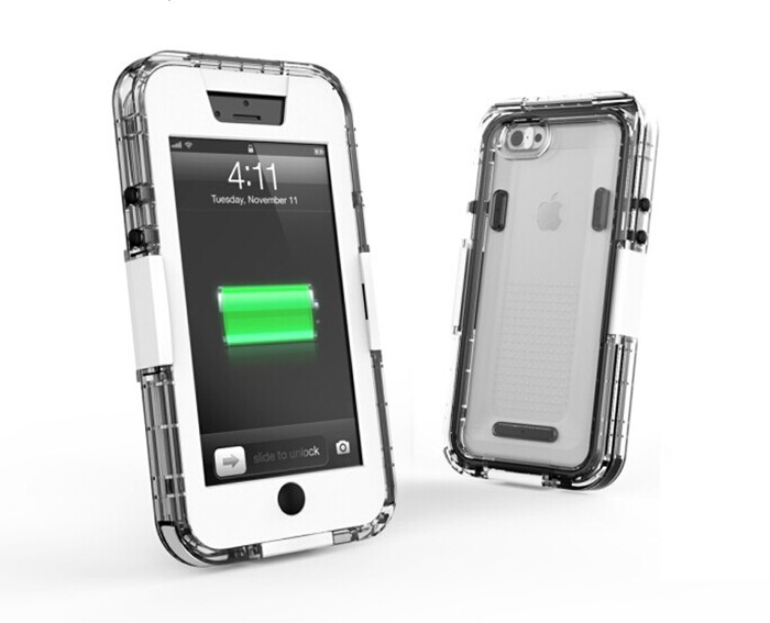 iPhone6用 簡単防水ケース IPX7 ガチロックの画像