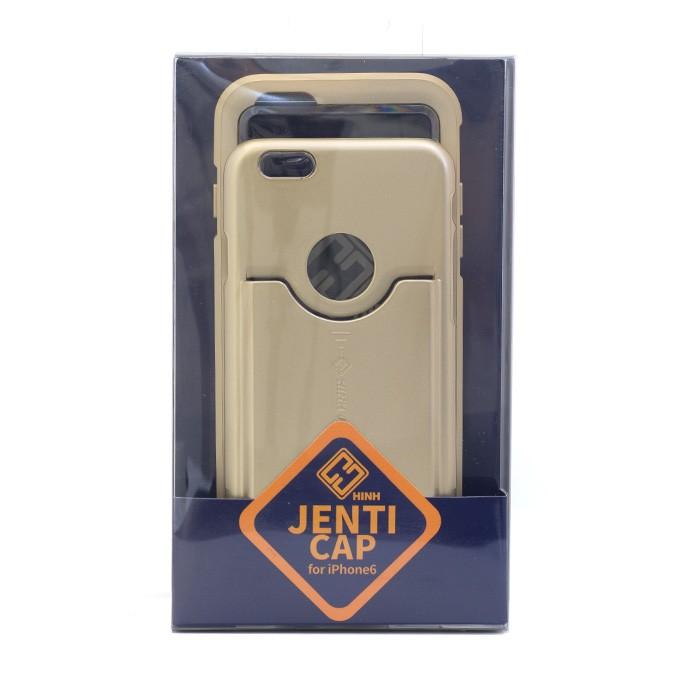カードホルダー,ハードケース,iPhone6,ゴールド,HinH