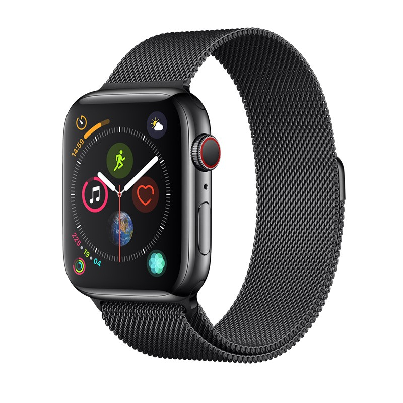 Apple Watch 40 / 38 mm ミラネーゼ 無段階調整 ステンレス バンド /Elegant Series Milanese Loop