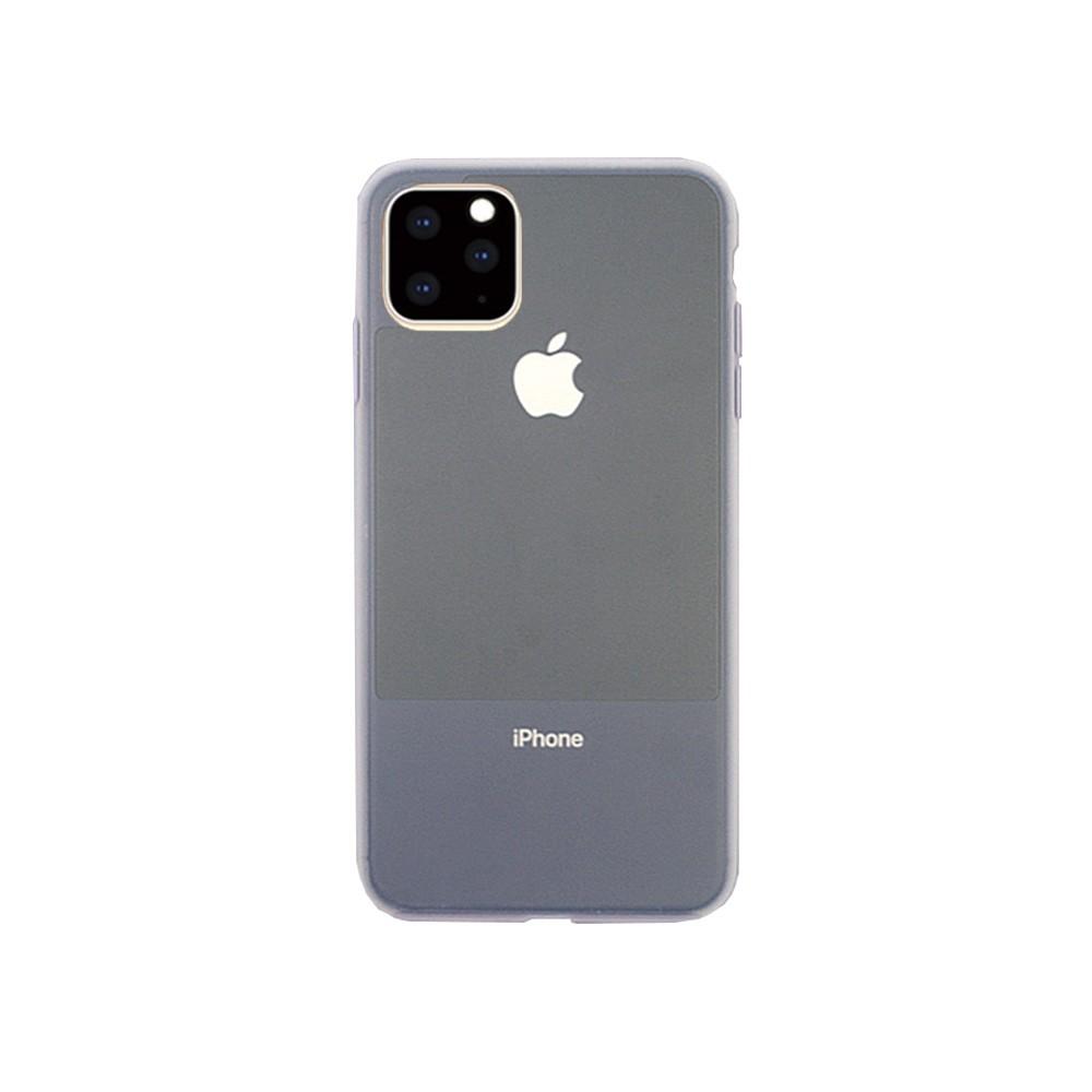 2019 iPhone 6.5 ハイブリッドケース 新端末のカラーに合わせた 汚れが消える 半透明 リキッドシリコンケース/CONTRAST SILICON
