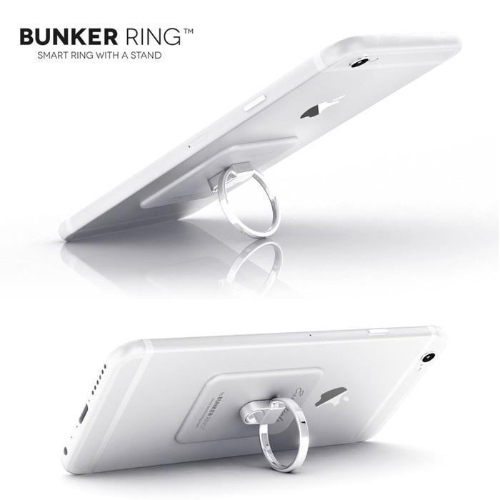スマートフォン、タブレットを片手でホールドできる、大人気必須アイテム☆BUNKER RINGの画像