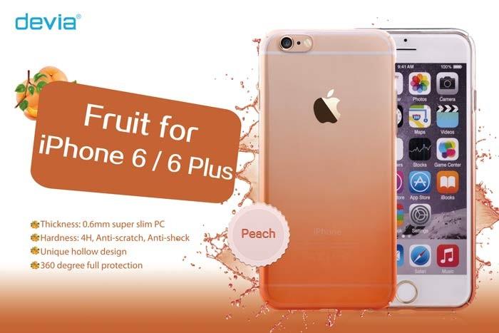 Devia かわいいフルーツカラーがおしゃれな フルーツケースの画像