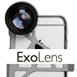 iPhone6で本格的なカメラ撮影を可能にするExoLensの画像