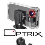 iPhoneを簡単に防水 耐衝撃 アクションカメラ使用にできるoptrixの画像