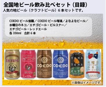 全国地ビール飲み比べ6本セット