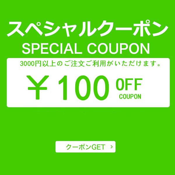 特集ページ限定 100円OFFクーポン
