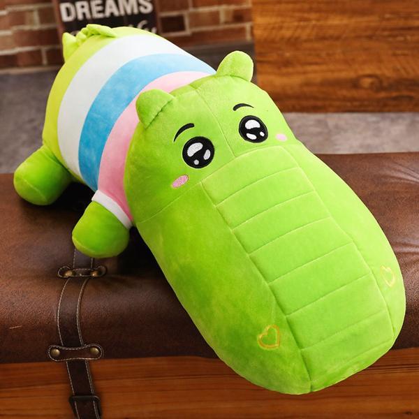 ぬいぐるみ 鰐 わに サイ かば ねむねむ抱き枕 クッション かわいい ふわふわ 誕生日プレゼント160cm|beluhappines|11