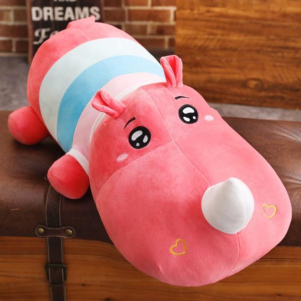 ぬいぐるみ 鰐 わに サイ かば ねむねむ抱き枕 クッション かわいい ふわふわ 誕生日プレゼント160cm|beluhappines|12