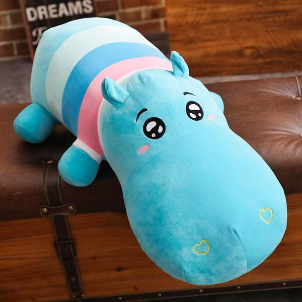 ぬいぐるみ 鰐 わに サイ かば ねむねむ抱き枕 クッション かわいい ふわふわ 誕生日プレゼント160cm|beluhappines|10