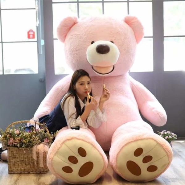 ぬいぐるみ くま テディベア 大きい コストコ 抱き枕 クッション かわいい 誕生日プレゼント  130cm|beluhappines|18