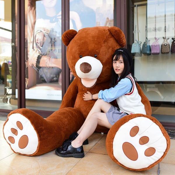 ぬいぐるみ くま テディベア 大きい コストコ 抱き枕 クッション かわいい 誕生日プレゼント  130cm|beluhappines|23