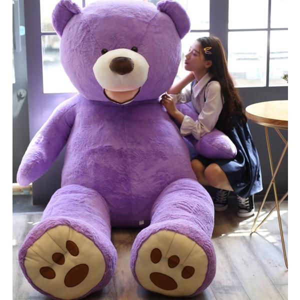 ぬいぐるみ くま テディベア 大きい コストコ 抱き枕 クッション かわいい 誕生日プレゼント  130cm|beluhappines|22