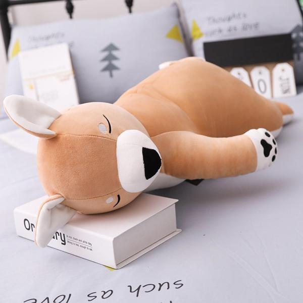 ぬいぐるみ クッション 動物 抱き枕 柴犬 うさぎ パンダ くま ねこ ふわふわ 誕生日プレゼント45cm|beluhappines|13