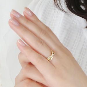 商品画像3 k18YG インフィニティ ダイヤモンド リング