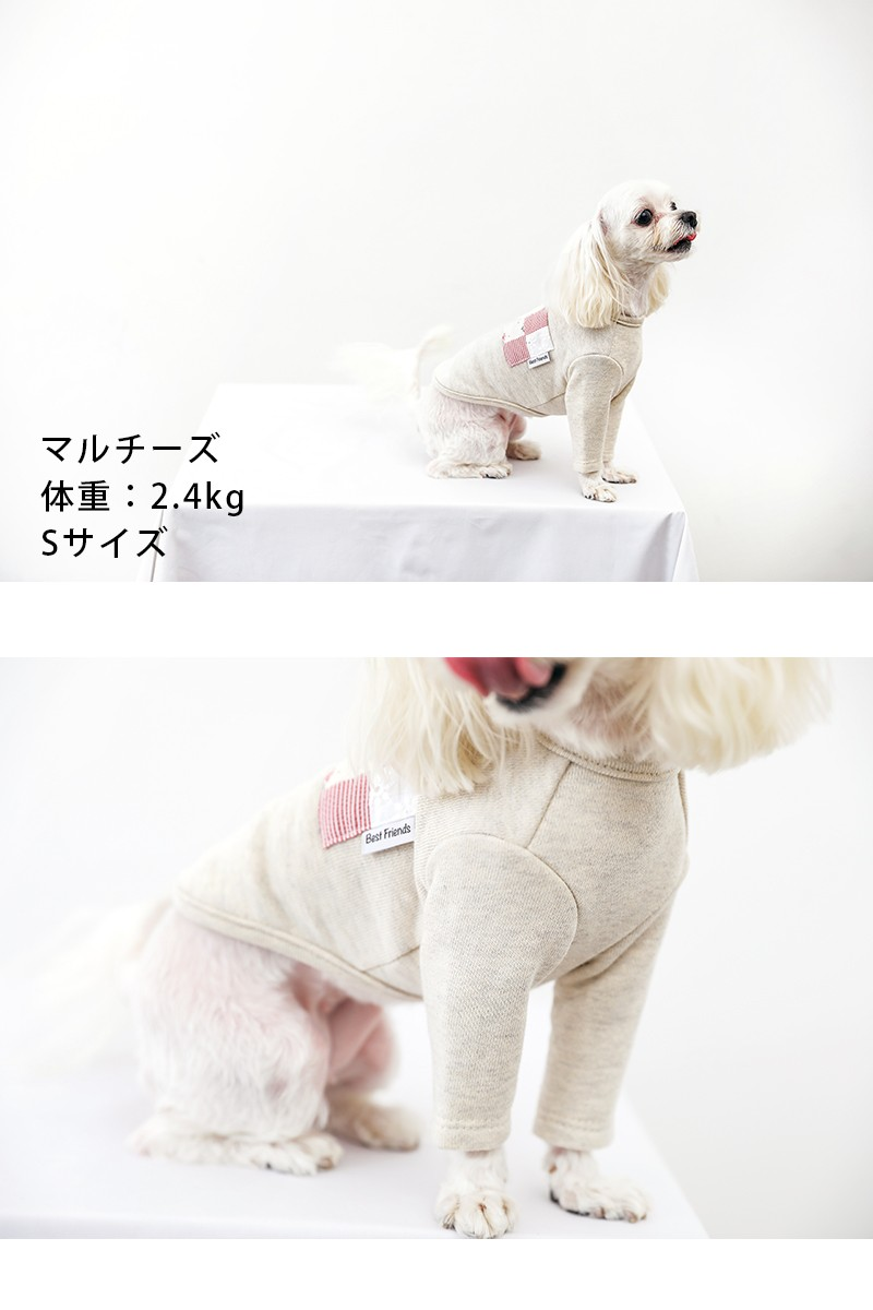 べストフレンズ BestFriends 犬服 犬の服 ドッグウェア Tシャツ ボーダー  春 夏 秋 冬 長袖 可愛い シンプル