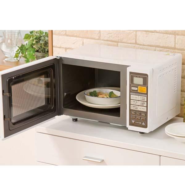 ターンテーブル オーブンレンジ EMO6013-W
