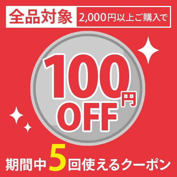 全品対象!最安値級のプライスから更に100円オフ!