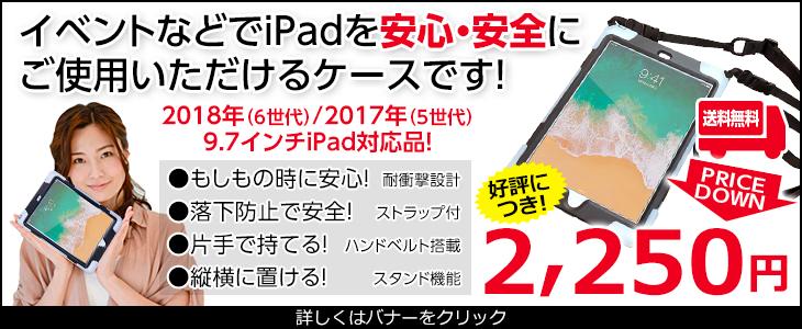 iPad簡易防塵ケース 2750円