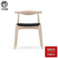 ELBOW CHAIR CH20 Beech Fabric CARL HANSEN & SON