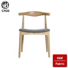 ELBOW CHAIR CH20 Oak Fabric  CARL HANSEN & SON