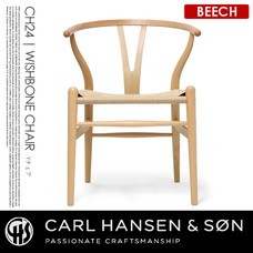 CH24 Y-CHAIR ビーチ CARL HANSEN & SON