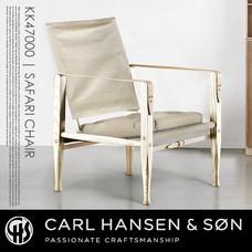 KK47000 SAFARICHAIR キャンバス CARL HANSEN & SON