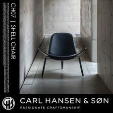 SHELL CHAIR CH07 CARL HANSEN & SON