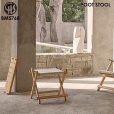 BM5768 FOOT STOOL CARL HANSEN & SON
