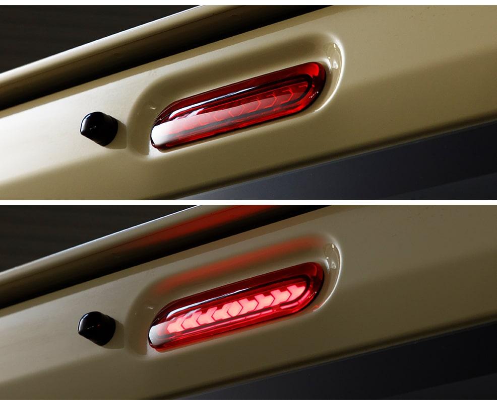 PLATINUM LED HIGH MOUNT STOP LAMP for HIACE プラチナLEDハイマウントストップランプ for ハイエース