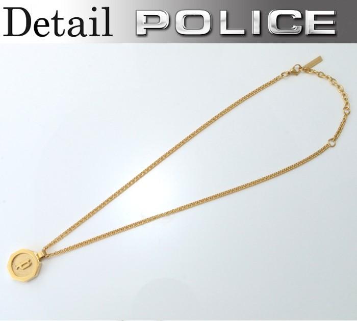 POLICE ステンレス メンズ ポリス Token 26155PSG02 ネックレス ペンダント