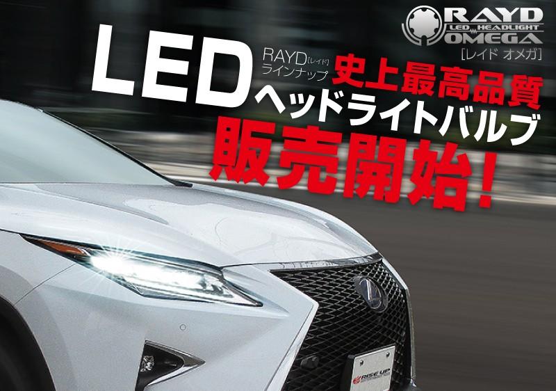 LEDヘッドライトOMEGAの導入画像