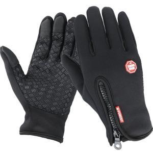 スマホ対応 手袋 メンズ  レディース 防寒 防風 グローブ スマートフォン タッチパネル 自転車|binetto|09