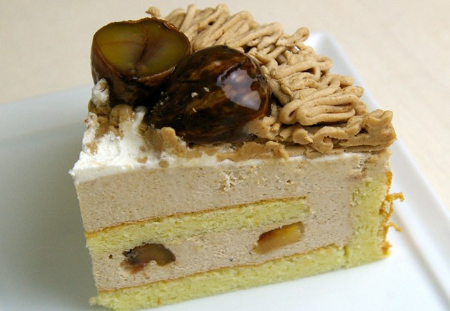 栗のケーキ(モンブラン)