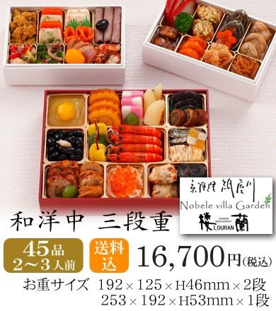 おせち2018・京都しょうざん和洋中