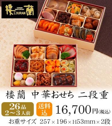 おせち2018・京都しょうざん中華おせち