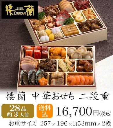 おせち2020・京都しょうざん中華おせち