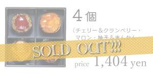 「HOSHI FRUITS(ホシフルーツ)」フレンチカップケーキ4個