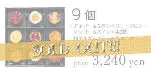 「HOSHI FRUITS(ホシフルーツ)」フレンチカップケーキ9個