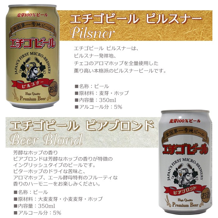 父の日プレゼント・クラフトビール 4種セット