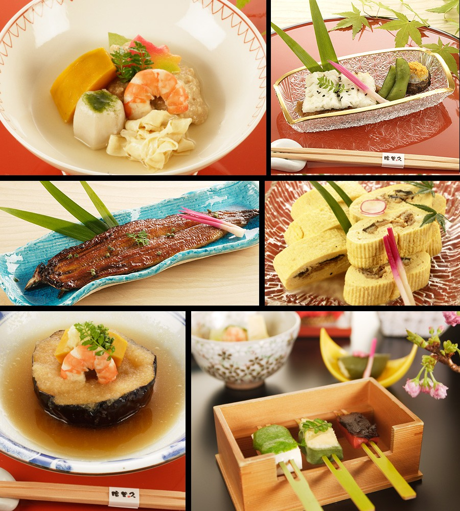 京都の料亭・濱登久・料理イメージ写真