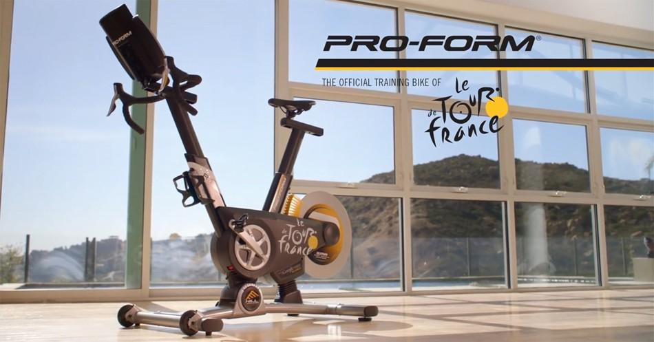 PRO-FORM ツール・ド・フランス オフィシャル トレーニングバイク TDF Pro 5.0