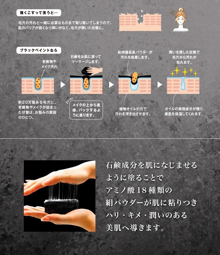 塗る石鹸 備長炭 炭石鹸 国産石鹸 日本製石鹸 肌の潤いを戻す