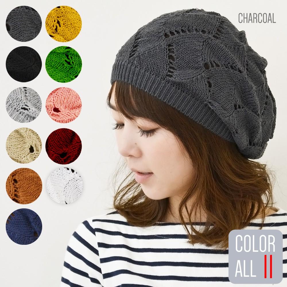帽子 の 棒針 方 編み 大人 ニット の