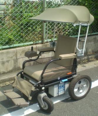 電動車椅子用日傘(特注)