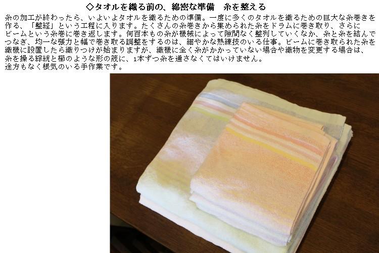 糸ができたら、整経。経糸を整理した織り機器にセットしていきます。