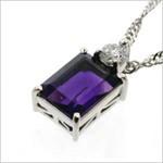フルオーダー|紫石ネックレストップに