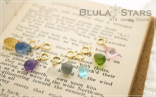 K18 jewel charm