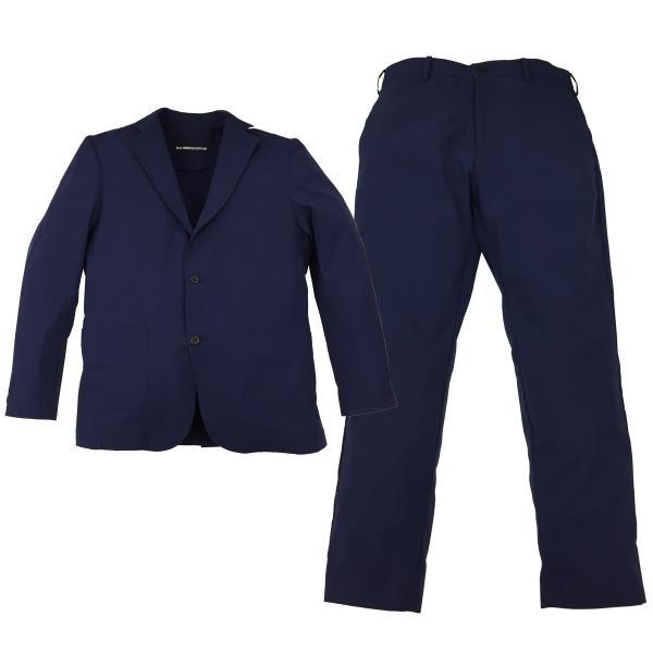 スーツ 上下セットアップ メンズ 吸水速乾 ストレッチ 家庭洗濯 BMC ビジネス オフィス ジャケット パンツ 空冷式スーツ ブラック/ネイビー/グレー M-LL bmc-tokyo 13